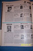 1957 Sports Illustrated ROSE BOWL Ohio State WOODY HAYES Texas A&M BEAR BRYANT