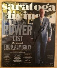 Todd Pletcher Autographed July/August 2019 Saratoga Living Magazine,Horse Racing
