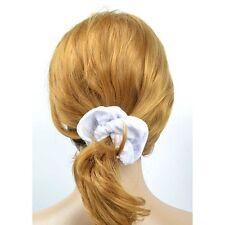 COLETERO NEGRO TERCIOPELO peinado cabello edredón 13 cm accesorio 7 colores X 2