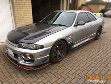 Nissan Skyline R33 R32 Gloss Front Bumper Fiberglass Splitter Lip for Racing v6