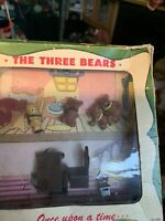 1951 Emenee Three Bears In Original Box And All Pieces Present Except Dishes