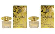 Mini Miniature Versace Yellow Diamond Woman Travel Perfume 2 x 5ml EDT