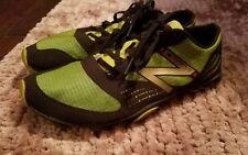 Mens New Balance Minimus Minimalist Road Running Shoes Sz 9.5 Green Black MT00BL