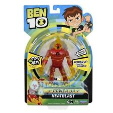 Playmates Toys Ben 10 Deluxe Figure with Lights & Sounds Power Up - Heatblast