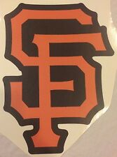 "SF San Francisco Giants MLB Official Team Logo 11"" x 15"" FATHEAD Wall Graphics"