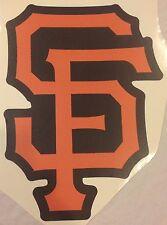 "SF San Francisco Giants MLB Official Team Logo 11"" x 15"" FATHEAD Wall Graphics"