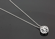"18CT WHITE GOLD CHOPARD ""IMPERIALE"" PENDANT & CHAIN"