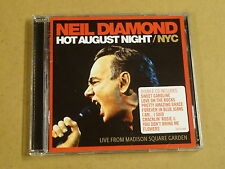 2-CD / NEIL DIAMOND - HOT AUGUST NIGHT / NYC