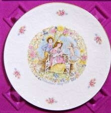 Royal Doulton 1978 Valentine'S Day Plate W/ Original Box-No Certificate.