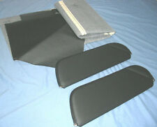 71-73 camaro firebird new sun visors with headliner black perforated