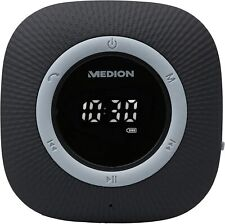 MEDION P66096 Duschradio mit Bluetooth (Saugnapf, LED-Display Wasserdicht)