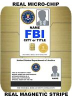 USA ID COLLECTOR CARDS <<FBI>> MARCH SPEC'L 2021