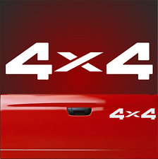 1 Aufkleber 4 x 4 30cm x 7.5cm 4x4 Allrad Offroad Autoaufkleber Off Road Rally