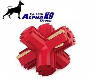 kong jump n jack dog red toy Medium Large