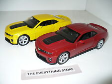 Welly Chevy Camaro Zl1 1:24 Red Or Yellow U Choose One Free Ship