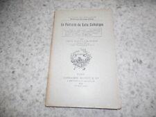 1904.Publicité du culte catholique.Crouzil