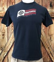 Independent Truck Company Men's Large Tshirt Skateboard Blue Early 2000's NHS