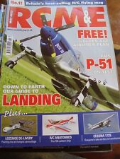 RCM&E MODEL AIRCRAFT MAGAZINE - MAY 2012 DEBUTANTE PLAN FMS P-51 CESSNA 172S