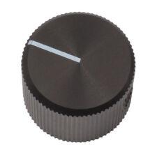 Mentor Potiknopf 6mm Achse Knopf 507.6131 ALU-Drehknopf schwarz 20mm 030684