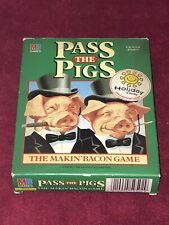 "BOXED "" PASS THE PIGS "" PIG DICE GAME DATED 1985"