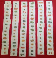 OLD US Stamp Collection Dealer Stock 1850s-19070s ☆ $300+ CV Early US Stamps! ☆