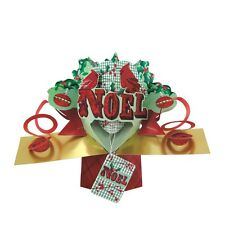Noel Petite Christmas Pop-Up Greeting Card Second Nature 3D Pop Up Cards