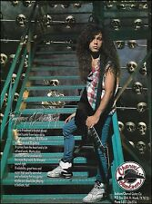 Megadeth Marty Friedman 1993 Jackson Charvel guitar ad 8 x 11 advertisement