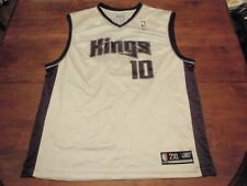 Mike Bibby Sacramento Kings Reebok NBA Jersey Men 2XL (XXL) #10