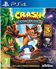 Activision Crash Bandicoot N. Sane Trilogy Jeu Vidéo Décors 3d Créativité Action