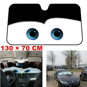 Black Auto Car Front Rear Window Foldable Visor Sun Shade Windshield Cover Block