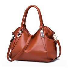 Fashion Women Leather Hobo Satchel Handbag Shoulder Tote Messenger Crossbody Bag