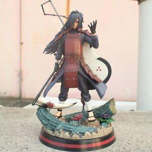 New Anime Madara Uchiha Statue Naruto Figure Pvc Toy Shippuden Collectible Box