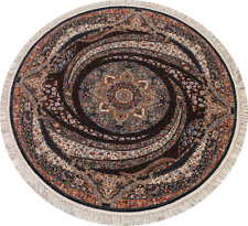 ROUND Transitional Floral Tebriz Turkish Oriental Area Rug Home Decor Carpet 7x7