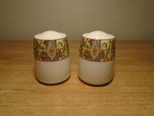 Royal Doulton Everyday Cinnabar Salt And Pepper Shaker Set