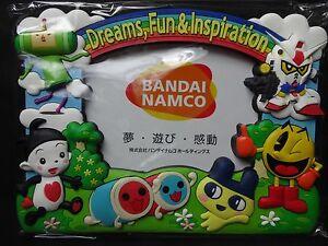 Rare BANDAI NAMCO  Gundam / PACMAN / Tamagotchi JAPAN Picture Frame