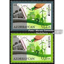 Aserbaidschan Azerbaijan Europa CEPT 2016, Umwelt/Think green, kmpl. Satz **