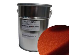 1 Liter Spritzfertigen Basislack Kupfer Metallic Autolack Trendlack Tuning