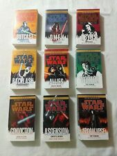 Star Wars Saga: Fate of the Jedi Series: Complete 9 Book NEW Paperback Lot 1-9