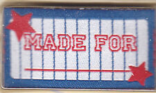 """BLUMENTHAL LANSING IRON ON LOVE LABELS -""""MADE FOR_____________"""" - SET OF 4 PC"""