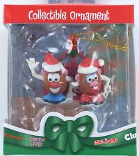 Christmas Ornament Mr & Mrs POTATO HEAD SKI Potatohead Lift 2005 Retired NIB New