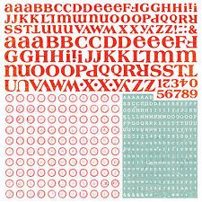 BasicGrey KONNICHIWA ALPHABET 12x12 Cardstock Sticker Sheet