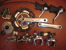 SHIMANO SORA 10 PIECE GROUP BUILD KIT 9 SPEED TRIPLE 3X9 SRAM BONTRAGER TRUVATIV