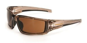Honeywell Hypershock Expresso Polarised Safety Glasses Safety Spec | AUTH DEALER