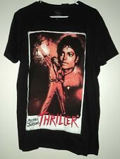 Michael Jackson Thriller Black T-Shirt Size Large Mens NEW!