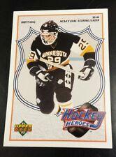 1991-92 Upper Deck Hockey Brett Hull Heroes #3 of 9