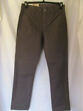 NWT Men's LEVI'S 511 SLIM TROUSER, W 30 L 30, Grey Gray,Soft Cotton, Lightweight