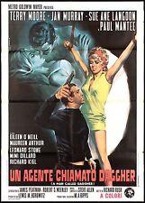 UN AGENTE CHIAMATO DAGGER MANIFESTO FILM A MAN CALLED DAGGER SPY MOVIE POSTER 2F