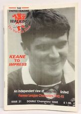 Walking Down The Warwick Road Issue 21 Manchester United Fanzine 1993 WDWR