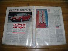 NOUVEAUTES ........................... CITROËN BX GTI 16 SOUPAPES.........