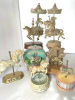 Willits Designs Carousel Horse music box